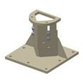 Turnstile Mounting Consoles