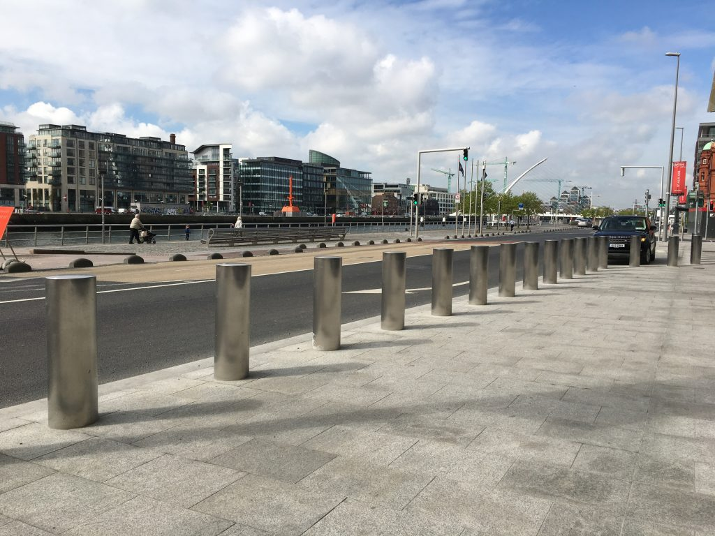 High Security Bollards. How Irish Companies Can Protect Citizens