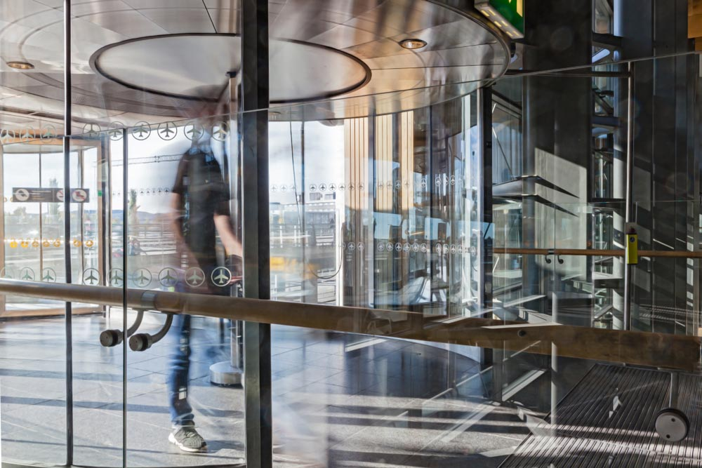 Using Revolving Door Access is Energy Efficient